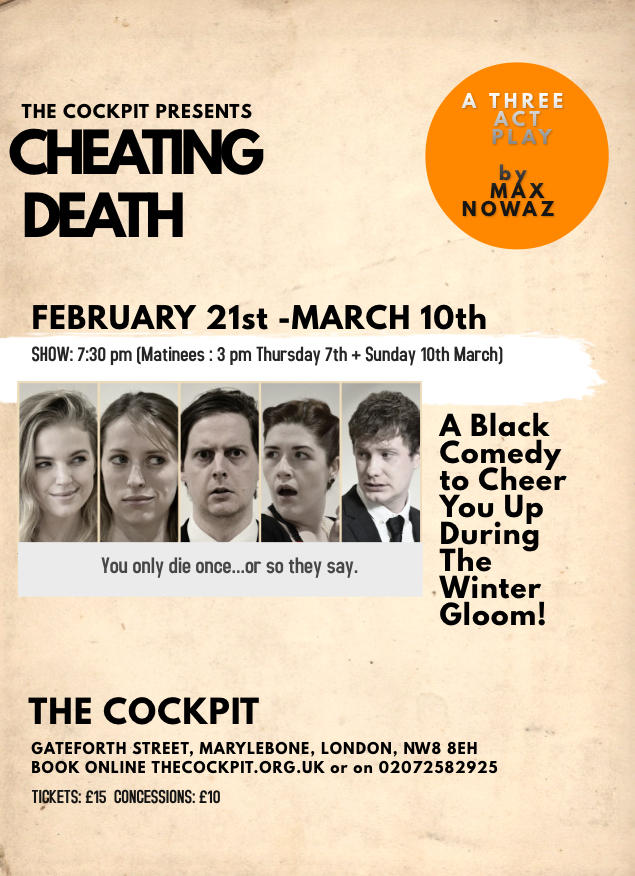 Cheating Death poster